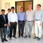 President of Association of German Footwear and Leather Goods Industry (HDS/L) visited the new tannery Estate in Savar.