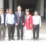 Visit by the European Union (EU) Delegation to the Savar Tannery Estates.