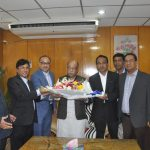 Leaders from Bangladesh Tanners Association(BTA) met the industry minister