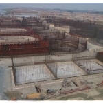 Progress of the works in the Tannery Industrial Estate, Dhaka project area.