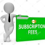 Notice: Annual Subscription Fee Rate Re-fixed