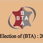 Biennial Election of BTA : 2021-2022