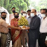 শিল্প সচিব জনাব জাকিয়া সুলতানা  হাজারীবাগ ট্যানারি এলাকা পরিদর্শন করেন